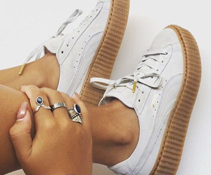 shoes, rihanna, and white image