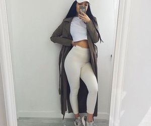 basic, girl, and leggings image