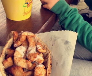 food, heide park, and snapchat image