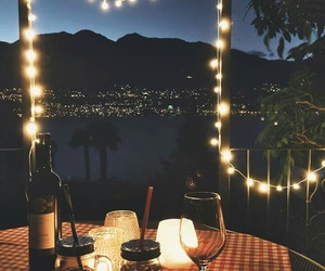 light, love, and dinner image
