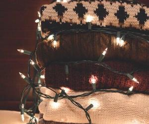 winter, christmas, and light image