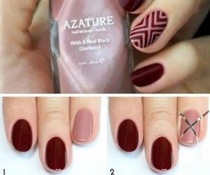 nail art and tutorial image