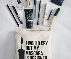 makeup, mascara, and cosmetics image