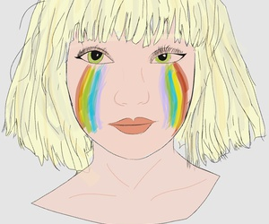 drawing, love, and ️sia image