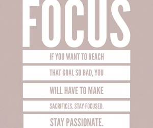 background, focus, and motivation image