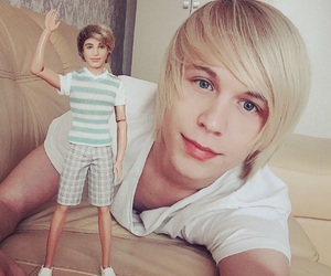 barbie, doll, and Human doll image