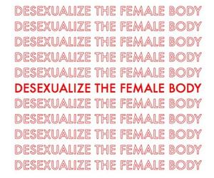 feminism, body, and female image