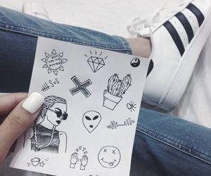 adidas, tumblr, and grunge image