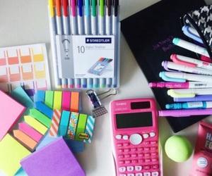 school, study, and pen image