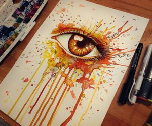 colorful, colors, and eyes image