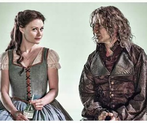 rumbelle, belle, and ️ouat image