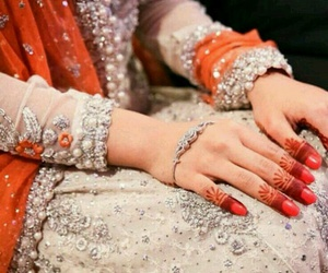 bride, wedding, and shaadi image