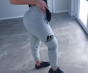 adidas, booty, and butt image