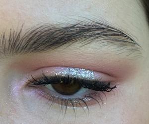 eye and pink image