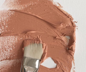beige, paint, and brown image