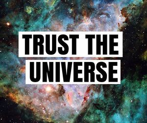 quote, universe, and loa image