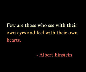 quote, Albert Einstein, and text image
