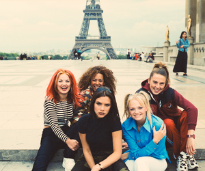 spice girls, 90s, and paris image