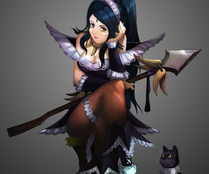 lol, league of legends, and nidalee image