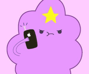 iphone, adventure time, and lumpy space princess image