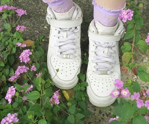flowers, grass, and aesthetic image