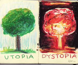 utopia, art, and distopia image
