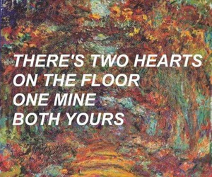 quotes, heart, and art image