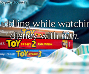 disney, text, and love image