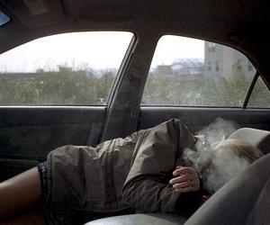 grunge, smoke, and car image