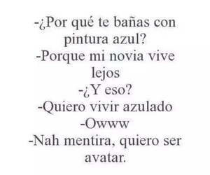 avatar, frases, and azul image
