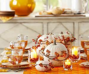 fall, orange, and thanksgiving image