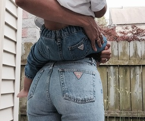 jeans, baby, and cute image