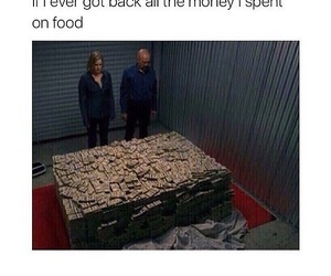 funny and food image