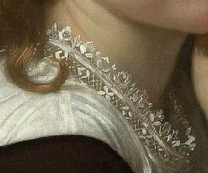 art, detail, and neck image