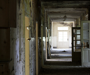 abandoned, hospital, and urban decay image