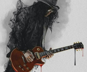 Guns N Roses, slash, and music image