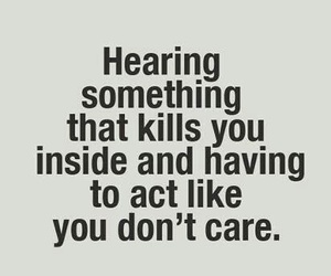 quote, sad, and care image