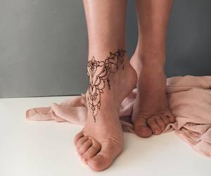 fashion, girl, and tatuagens image