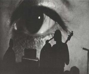 the velvet underground, black and white, and eye image