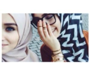 girls, hijab, and ﺭﻣﺰﻳﺎﺕ image