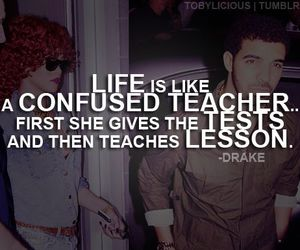 Drake, life, and quotes image