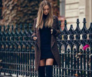 black, cute, and fashion image