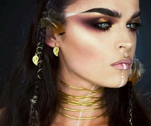 makeup, Halloween, and halloween makeup image