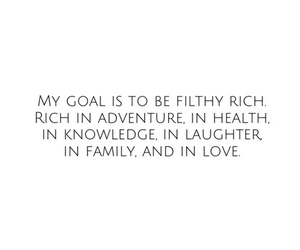 goals, rich, and family image