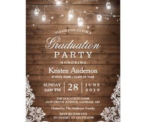 announcement, grad, and graduation image