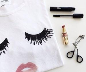 fashion, dior, and makeup image