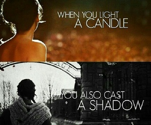 shadow, hunger games, and katniss everdeen image