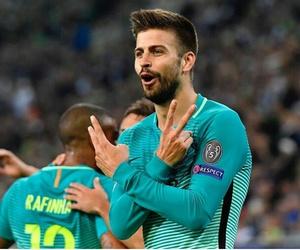 Barca, Barcelona, and champions league image
