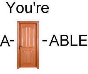 adorable, door, and funny image
