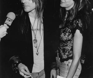 axl rose, Guns N Roses, and Stephanie Seymour image